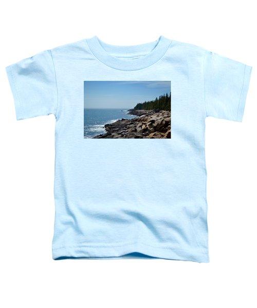 Rocky Summer Shore Toddler T-Shirt