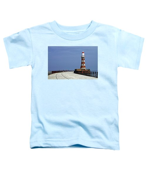 Roker Lighthouse Sunderland Toddler T-Shirt