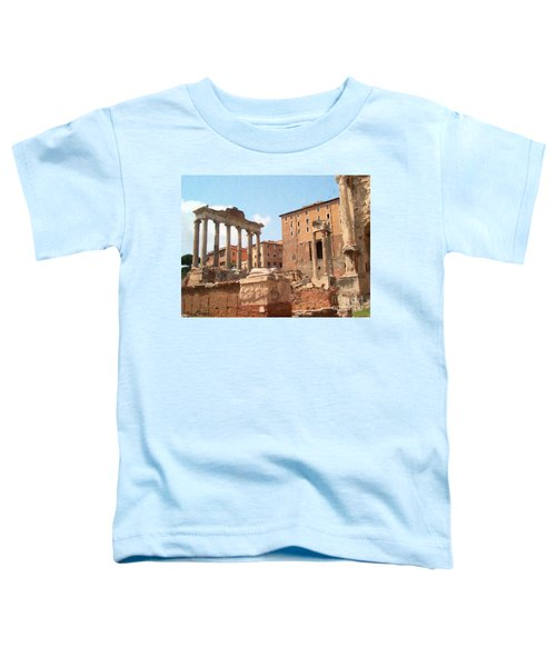 Rome The Eternal City And Temples Toddler T-Shirt