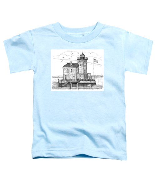 Rondout Lighthouse Toddler T-Shirt
