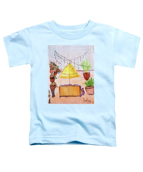 Rooftop At The Canary Toddler T-Shirt