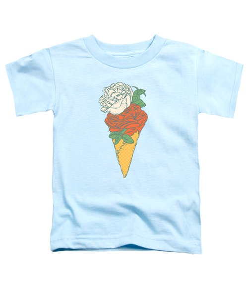 Rose Ice Cream Toddler T-Shirt