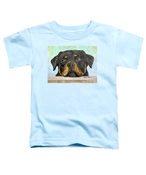 Rottweiler's Sweet Face 2 Toddler T-Shirt