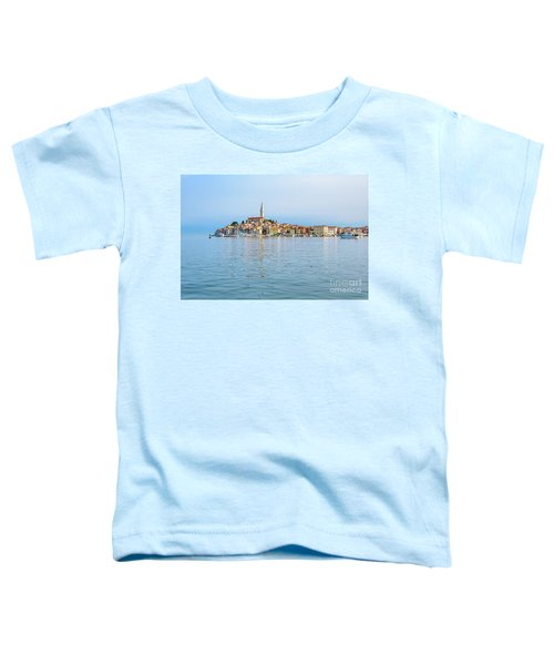 Rovinj In The Early Morning Fog, Istria, Croatia Toddler T-Shirt
