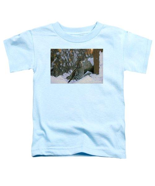 Ruffed Grouse Toddler T-Shirt