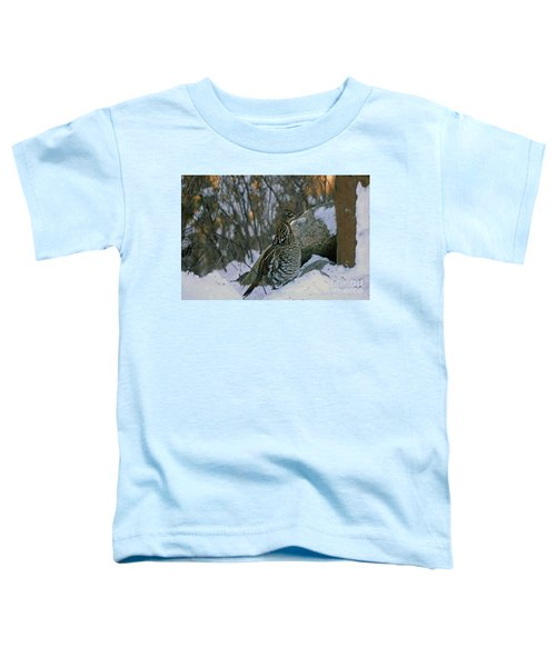 Ruffed Grouse Toddler T-Shirt