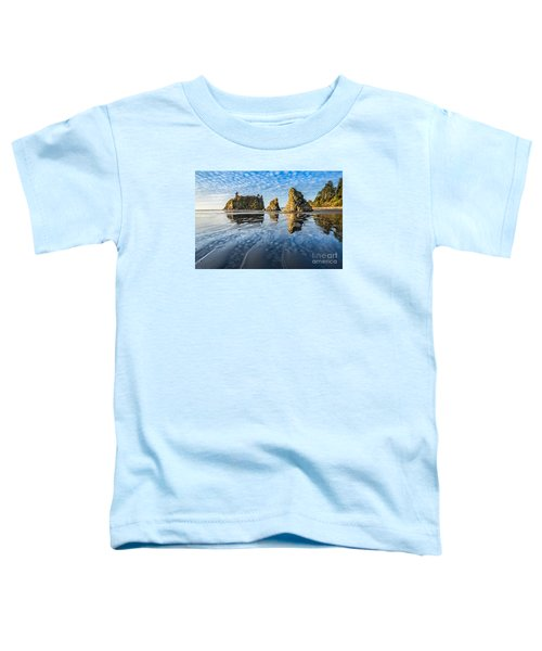 Ruby Beach Reflection Toddler T-Shirt