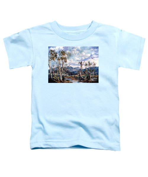 Rwetyepme, Mount Sonda Central Australia Toddler T-Shirt