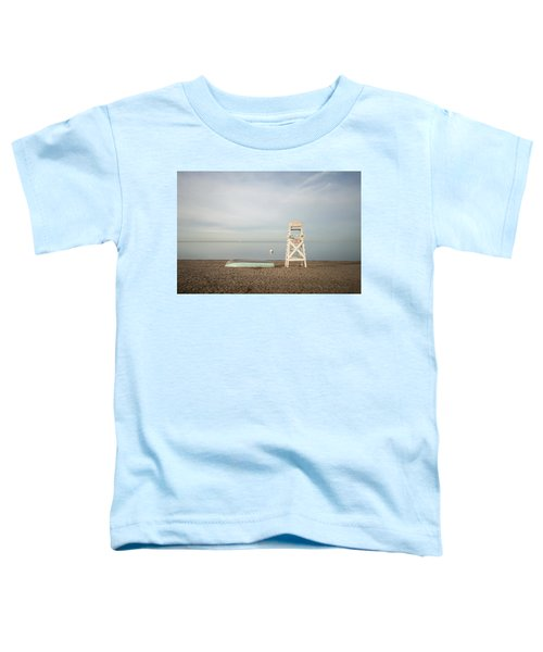 Sasco Beach Life Guard Chair Toddler T-Shirt