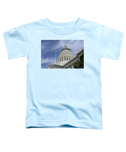 Sacramento Capitol Building Toddler T-Shirt