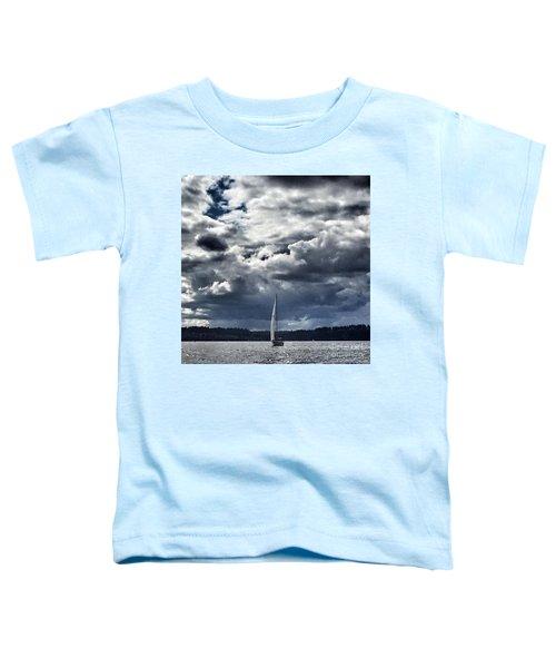 Sailing Puget Sound Toddler T-Shirt