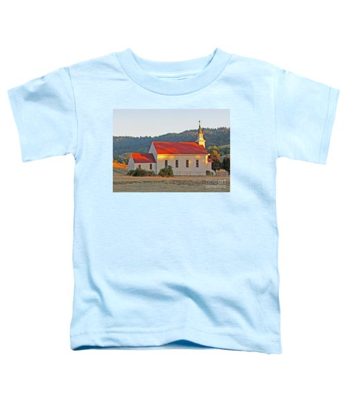 St. Mary's Church At Sunset Toddler T-Shirt
