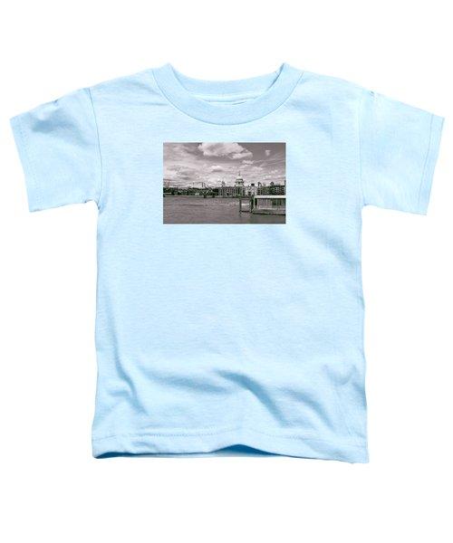 Saint Pauls Cathedral Along The Thames Toddler T-Shirt