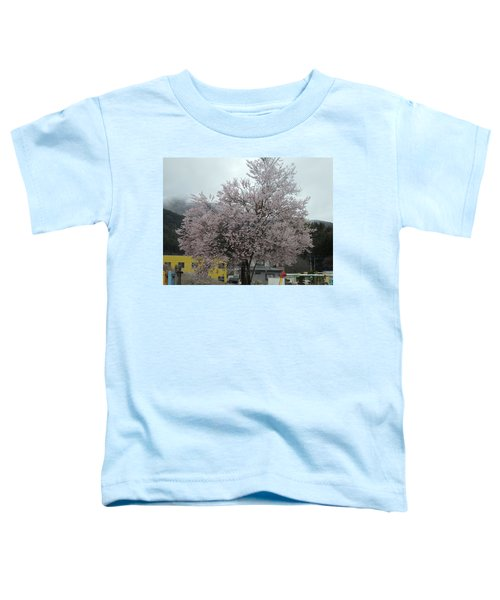 Sakura, Japan's Ephemeral Also Beautiful Flowers Toddler T-Shirt