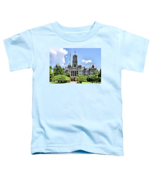 Salt Lake City County Building Toddler T-Shirt