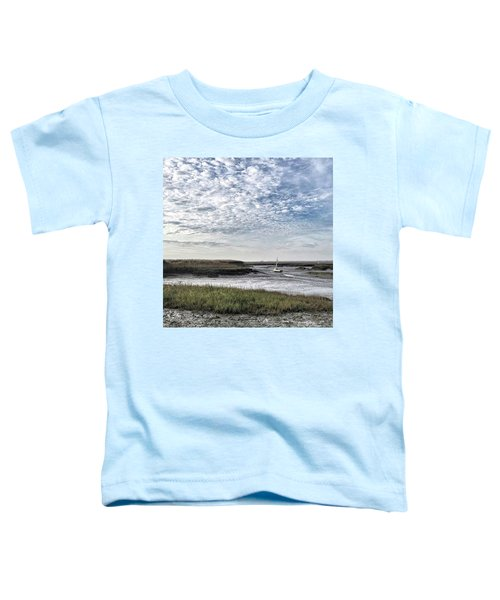 Salt Marsh And Creek, Brancaster Toddler T-Shirt