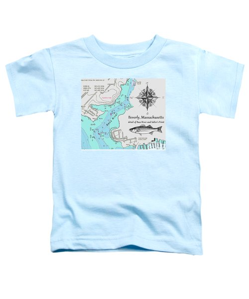 Salter's Point Map Toddler T-Shirt