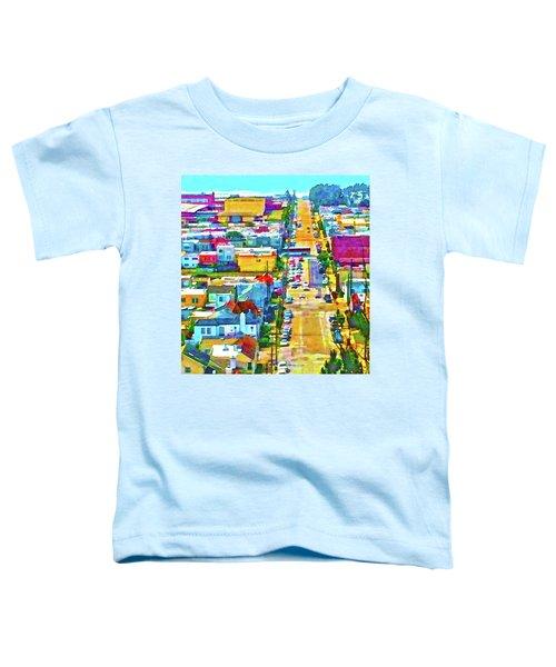 San Francisco Quintara View Toddler T-Shirt