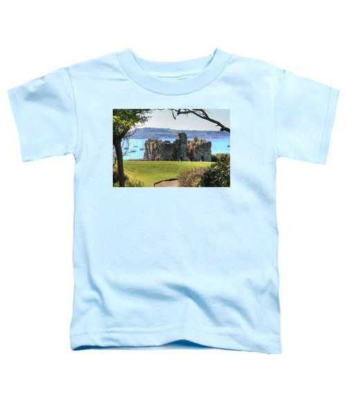 Sandsfoot Castle With Portland Toddler T-Shirt