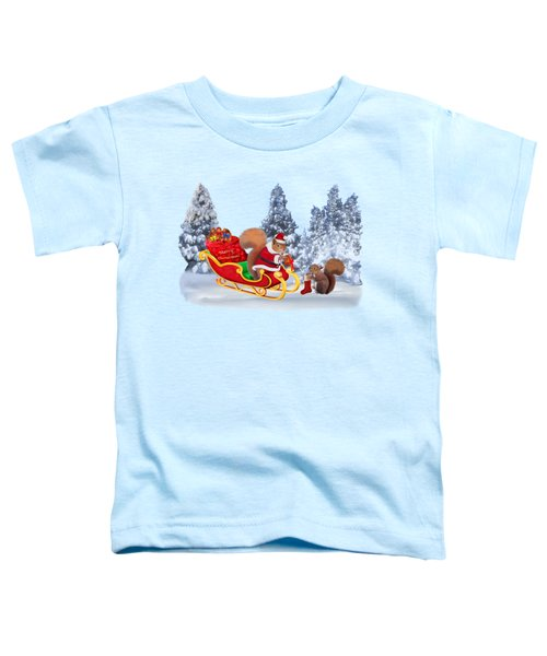 Santa's Little Helper Toddler T-Shirt