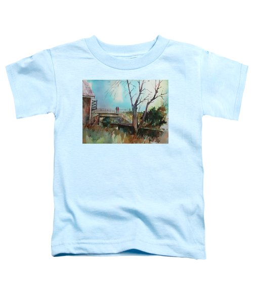 Sara's View Of The Jones River Toddler T-Shirt