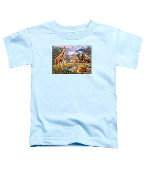 Savannah Animals Toddler T-Shirt