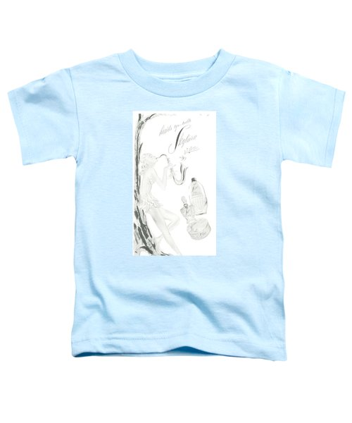 Toddler T-Shirt featuring the digital art Sax Girl by ReInVintaged