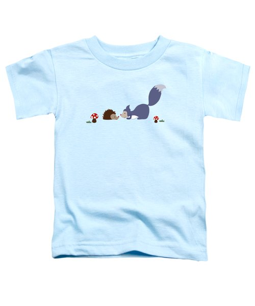 Say Yes To New Adcentures Toddler T-Shirt by Kathrin Legg