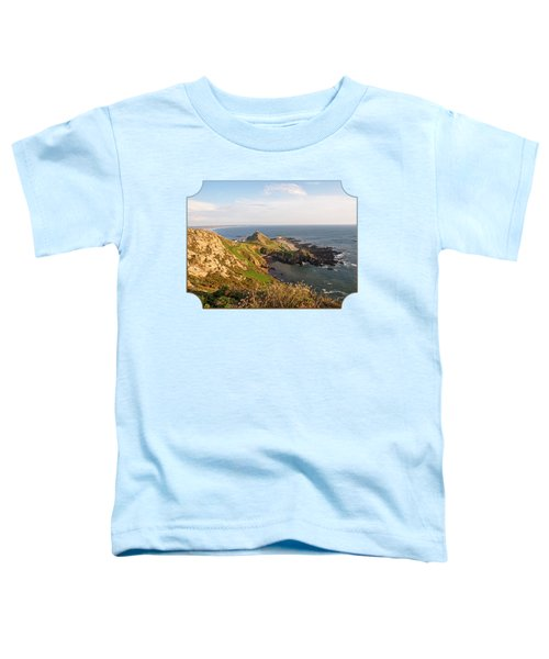 Scenic Coastline At Corbiere Toddler T-Shirt