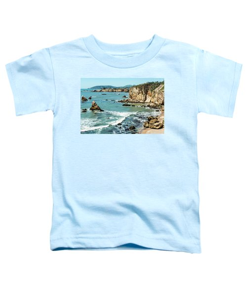 Sea And Cliffs Toddler T-Shirt