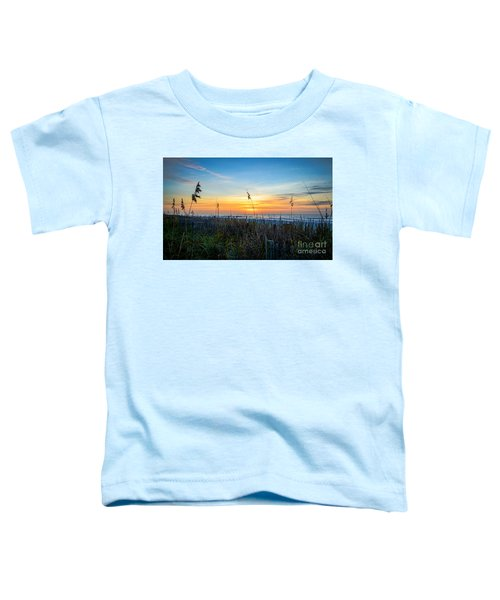 Sea Oats Sunrise Toddler T-Shirt