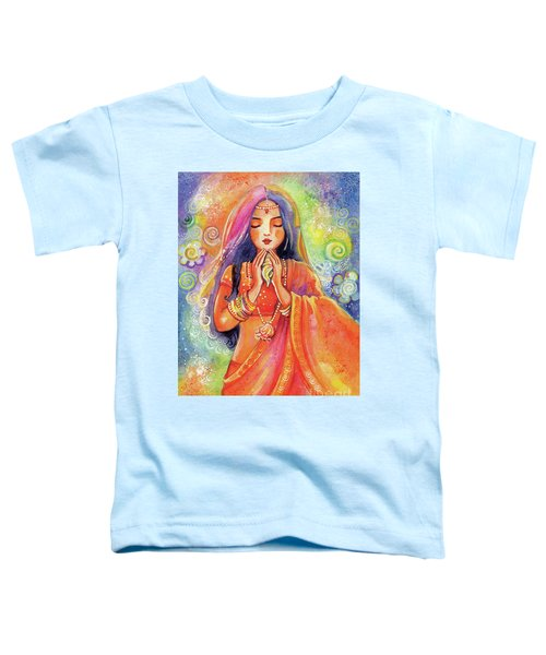 Seashell Wish Toddler T-Shirt by Eva Campbell