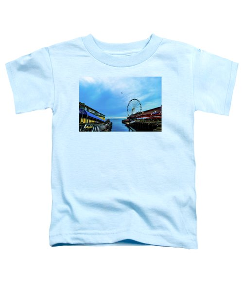 Seattle Pier 57 Toddler T-Shirt