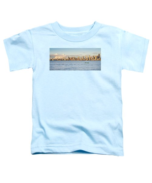 Seattle Skyline 2 Toddler T-Shirt