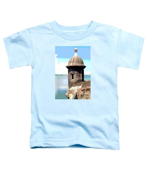Sentry Box In El Morro Toddler T-Shirt
