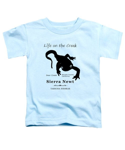 Sierra Newt - Black Toddler T-Shirt