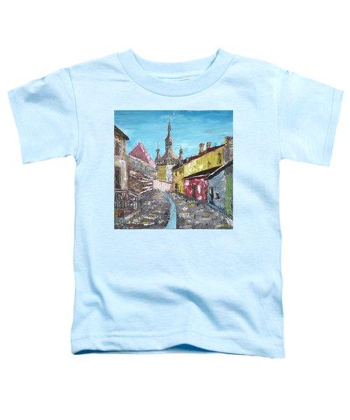 Sighisoara Draculas Home Toddler T-Shirt