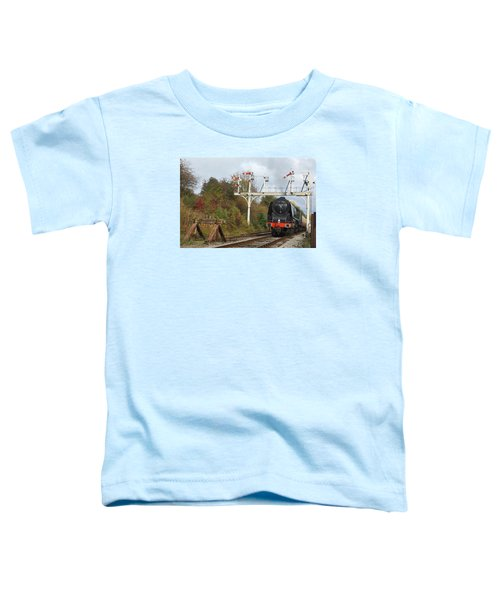 Signaling The Change Toddler T-Shirt