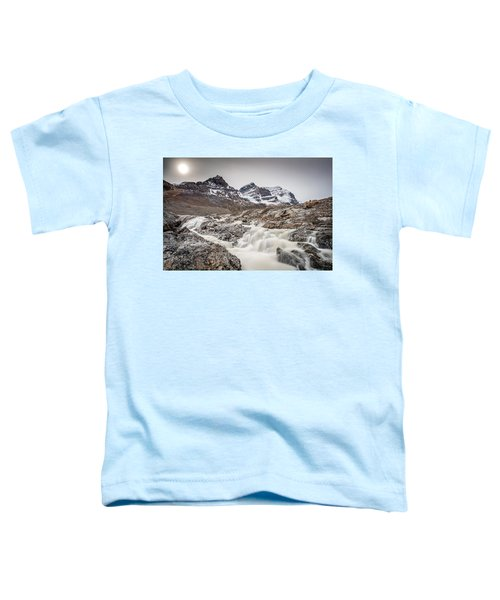 Silky Melt Water Of Athabasca Glacier Toddler T-Shirt