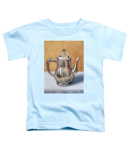 Silver Teapot Toddler T-Shirt