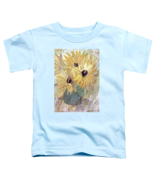Simply Sunflowers  Toddler T-Shirt