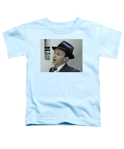 Sinatra - Color Toddler T-Shirt by Paul Tagliamonte