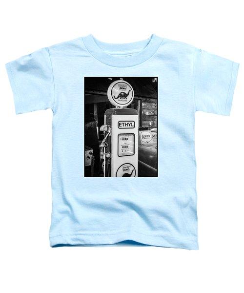 Sinclair Dino Gas Pump Toddler T-Shirt