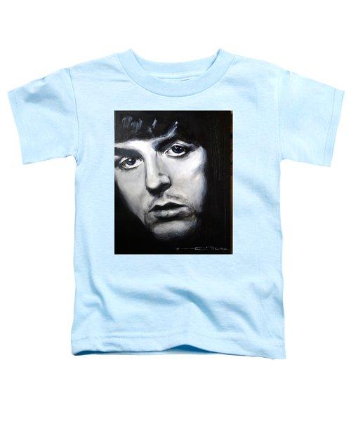 Sir Paul Mccartney Toddler T-Shirt