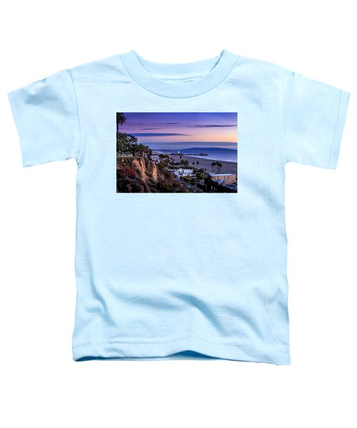 Sitting On The Fence - Santa Monica Pier Toddler T-Shirt