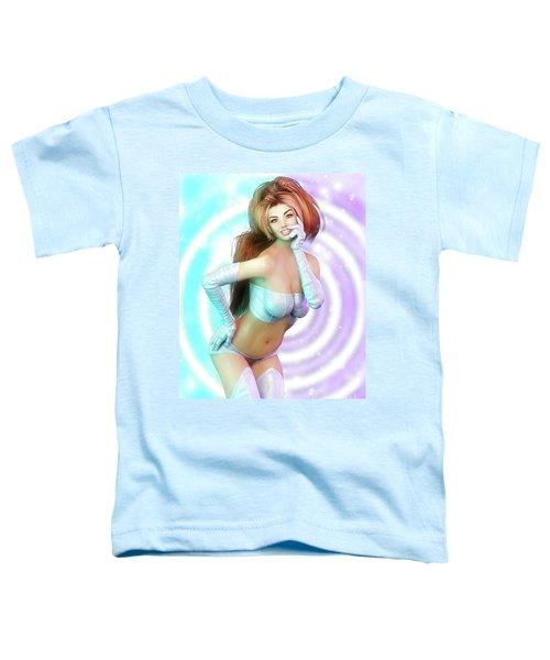 Sixties Mod Pin-up Toddler T-Shirt