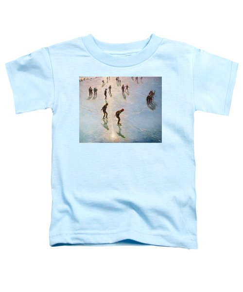 Skating In The Sunset  Toddler T-Shirt