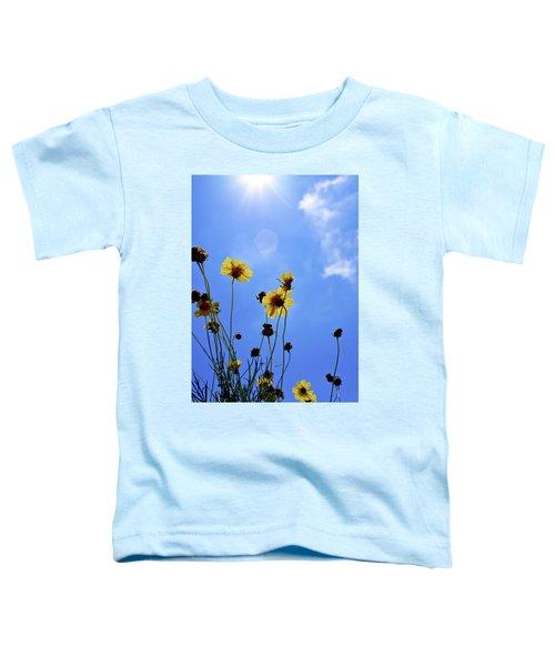 Sky Flowers Toddler T-Shirt