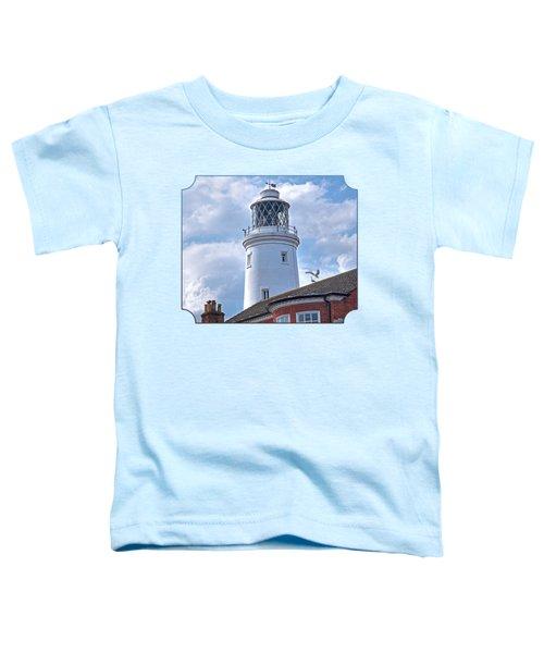 Sky High - Southwold Lighthouse Toddler T-Shirt by Gill Billington