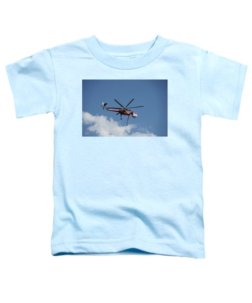 Skycrane Works The Red Canyon Fire Toddler T-Shirt